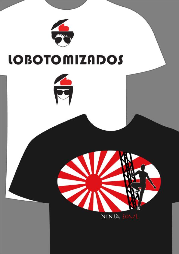 Diseño e ilustración camisetas Noa Design