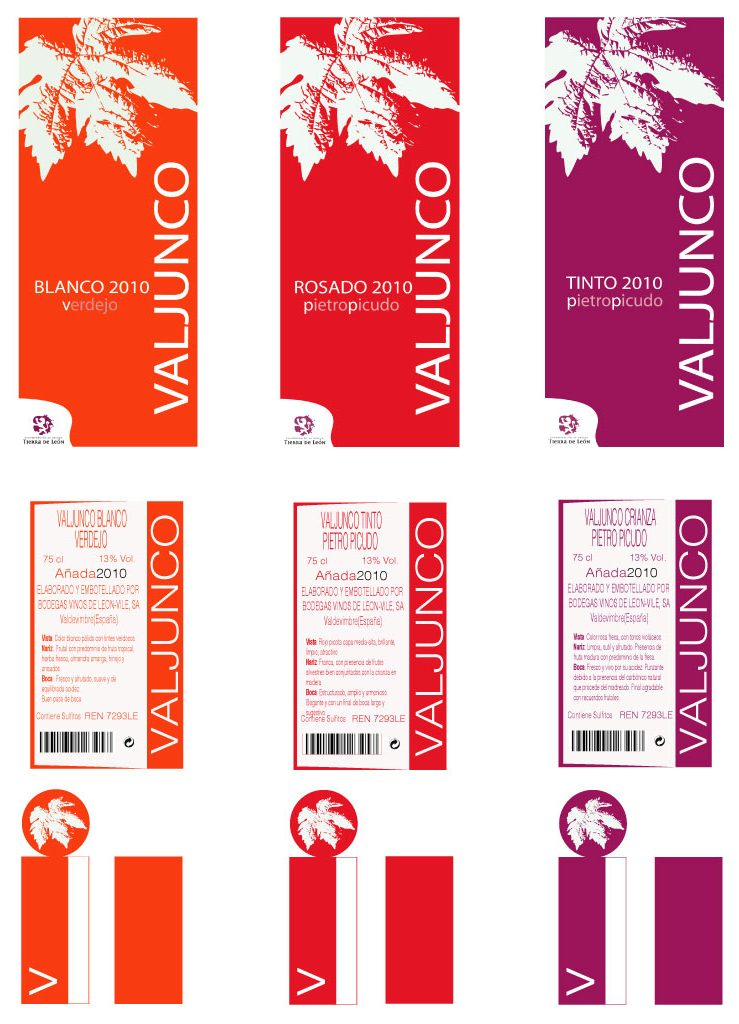 Diseño etiquetas vino Noa Design