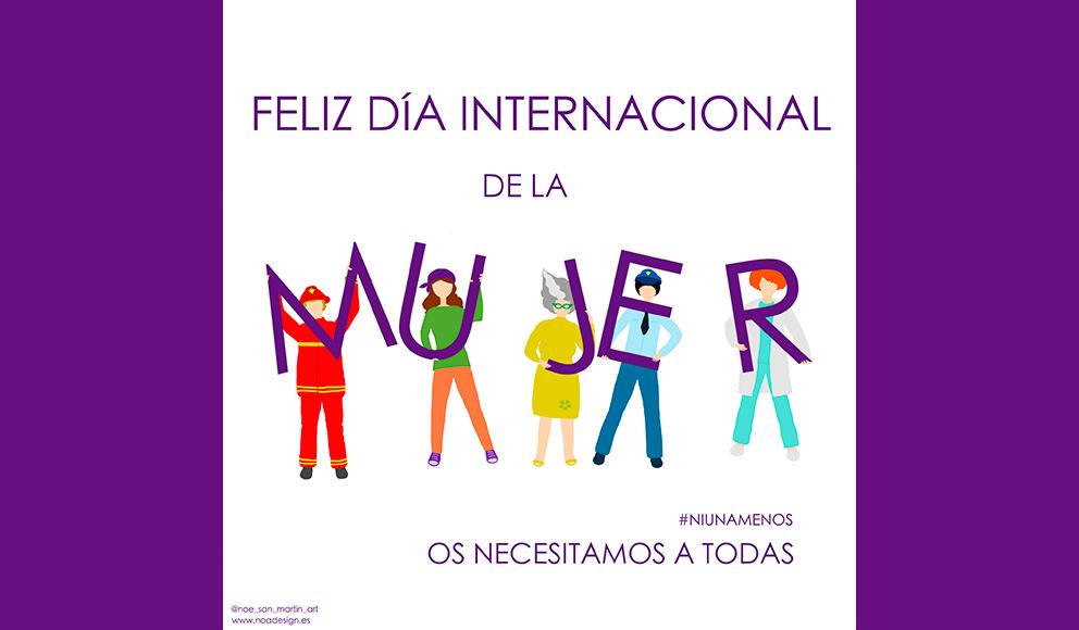 Día de la mujer. 8 marzo 2021